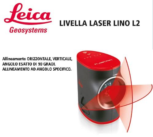 Livella laser Leica Lino L2 - Promozione - Uni Edil