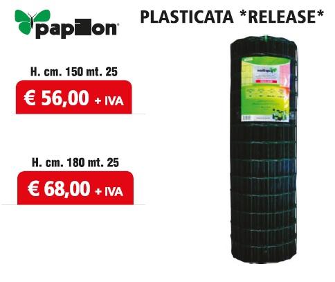 Rete plasticata Release Papillon - Promozione - Uni Edil