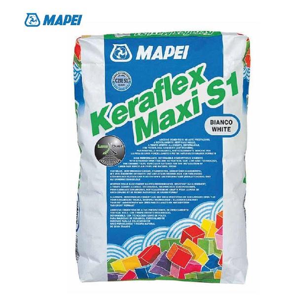 MAPEI KERAFLEX MAXI S1 Bianco - Sacco da 23 Kg.- Promozione - Uni Edil
